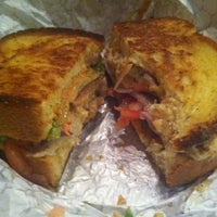 Photo taken at Gooeyz Grilled Cheese by Laura on 10/21/2012