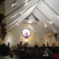 Photo taken at Gereja Katolik Katedral by Elisa N. on 4/17/2014