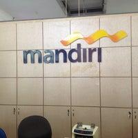 Photo taken at Bank Mandiri Cabang Muara by Elisa N. on 2/8/2013