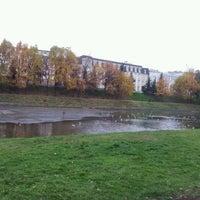 Photo taken at Парк «Чёрное озеро» by Zarina H. on 10/6/2012
