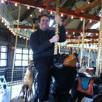 Photo taken at Bear Mountain Carousel by Chev W. on 3/30/2013