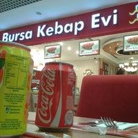 Photo taken at Bursa Kebap Evi by Emre A. on 11/10/2014