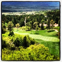 Photo taken at Castle Pines Golf Club by Mike S. on 5/28/2013