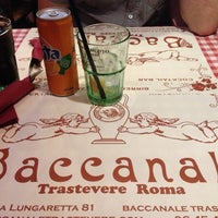 Photo taken at Baccanale Trastevere by Lydie D. on 10/6/2013