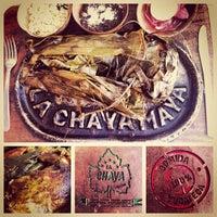 Photo taken at La Chaya Maya by Abraham C. on 3/28/2013