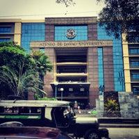 Photo taken at Ateneo de Davao University by John Joey S. on 4/10/2013