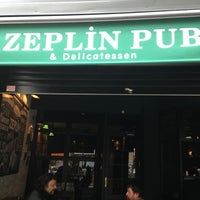 Photo taken at Zeplin Pub & Delicatessen by Erol on 2/21/2013