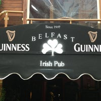 Photo taken at Belfast Irish Pub by Erol on 4/3/2013