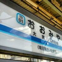 Photo taken at 東武大宮駅 1-2番線ホーム by _ K. on 9/24/2012