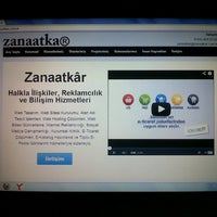 Снимок сделан в Zanaatkâr Halkla İlişkiler пользователем İbrahim Ç. 2/17/2013