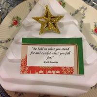 Photo taken at The Secret Garden Tea Cafe & Gift Shoppe by Loretta on 12/20/2014