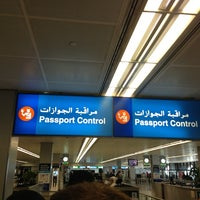 Photo taken at Passport Control by Kostik on 3/15/2013
