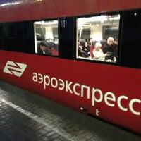 Photo taken at Aeroexpress Terminal at Belorusski Railway Station by Kostik on 2/28/2013