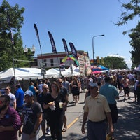 Photo taken at Northalsted Marketdays by Willie M. on 8/12/2017