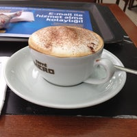 Photo taken at Caffè Nero by Semra on 11/23/2012
