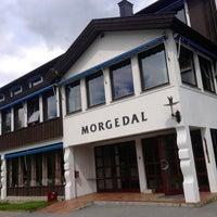 Photo taken at Morgedal Hotel by Fábio Renato M. on 6/14/2013