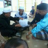 Photo taken at Masjid Kuning KD by Ikram Y. on 12/21/2012