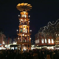 Photo taken at Mainzer Weihnachtsmarkt by Sascha M. on 12/19/2012