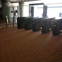 Photo taken at Silver Spring Metro Station by Ryan D. on 4/12/2013