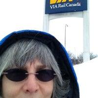 Photo taken at VIA Rail Ottawa by Pam D. on 2/28/2013