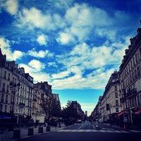 Photo taken at Métro Saint-Paul – Le Marais [1] by Carlos P. on 11/19/2013