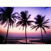 Photo taken at Ashwem Beach by Nastine on 4/2/2013