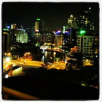 Photo taken at Novotel Singapore Clarke Quay by Tugce K. on 10/25/2012