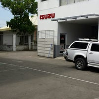Photo taken at Isuzu Bulacan by Clayton I. on 10/7/2013