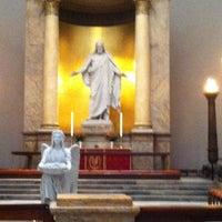 Photo taken at Vor Frue Kirke by Hannele R. on 11/24/2012