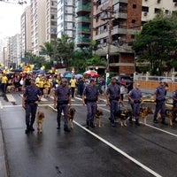 Photo taken at Cãominhada by Luis Gilberto Moreira Corrêa on 7/5/2015