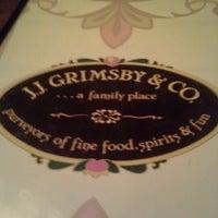 Photo taken at J. J. Grimsby's by Karston L. on 9/21/2012