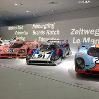 Photo taken at Porsche Museum by Aylin T. on 2/3/2013