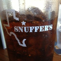 Photo taken at Snuffer's by Madeline on 12/20/2012