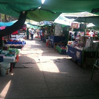 Photo taken at Tianguis de los domingos. by Edubby on 3/30/2014