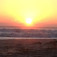 Photo taken at Cocoa Beach Pier by Jelani on 10/28/2012
