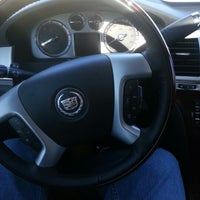 Photo taken at Lund Cadillac Hummer Saab by Brad V. on 1/12/2013