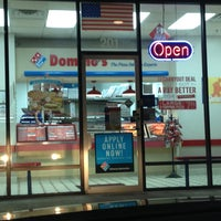 Photo taken at Domino's Pizza by Anthony on 2/15/2013