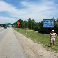 Photo taken at Maine State Line by Alessandra Eufrazio F. on 7/19/2013