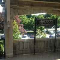 Photo taken at NJT - Madison Station (M&E) by Chris M. on 6/8/2013