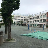 Photo taken at 目黒区立向原小学校 by Mittyoi A. on 5/13/2018