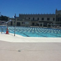 Photo taken at USD Pool Complex by Nil on 7/17/2013
