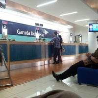 Photo taken at Garuda Indonesia Sales & Ticketing Office by prildy b. on 7/18/2013
