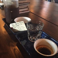 Photo taken at Brick & Mortar Coffee by Dan G. on 3/25/2015
