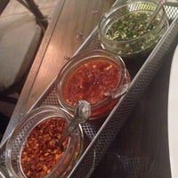 Photo taken at Palm Thai Bistro by Rosa R. on 1/13/2015