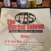 Photo taken at The Burger Saloon by Rosa R. on 7/20/2013