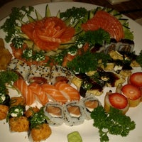 Photo taken at Hiro Sushi by Vivian O. on 9/25/2012