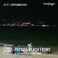 Photo taken at Pattaya Beach Front by awizul on 9/1/2014