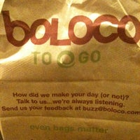 Photo taken at Boloco by Pema on 2/18/2013