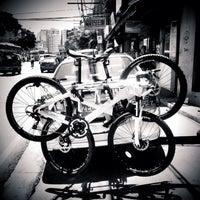 Photo taken at Bicycle World Buendia by Joy H. on 6/19/2014