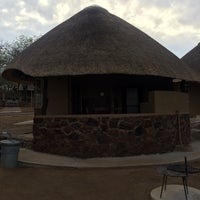 Photo taken at Olifants Rest Camp by Elise B. on 11/3/2014